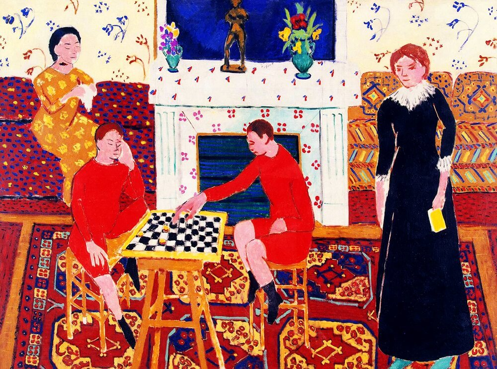 Henri matisse the painters family